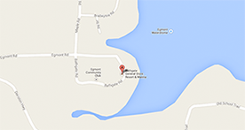 Bathgate resort and marina location